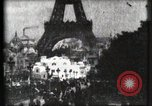 Image of Eiffel tower Paris France, 1900, second 24 stock footage video 65675040586
