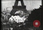 Image of Eiffel tower Paris France, 1900, second 26 stock footage video 65675040586