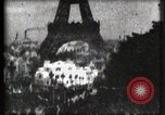 Image of Eiffel tower Paris France, 1900, second 27 stock footage video 65675040586