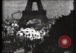 Image of Eiffel tower Paris France, 1900, second 30 stock footage video 65675040586
