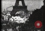 Image of Eiffel tower Paris France, 1900, second 33 stock footage video 65675040586