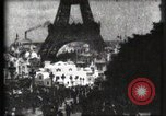 Image of Eiffel tower Paris France, 1900, second 34 stock footage video 65675040586