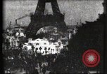 Image of Eiffel tower Paris France, 1900, second 35 stock footage video 65675040586