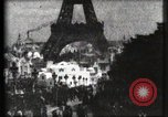Image of Eiffel tower Paris France, 1900, second 38 stock footage video 65675040586
