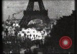 Image of Eiffel tower Paris France, 1900, second 39 stock footage video 65675040586