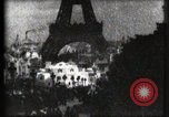 Image of Eiffel tower Paris France, 1900, second 41 stock footage video 65675040586