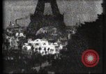 Image of Eiffel tower Paris France, 1900, second 42 stock footage video 65675040586