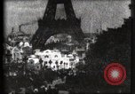 Image of Eiffel tower Paris France, 1900, second 43 stock footage video 65675040586