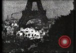 Image of Eiffel tower Paris France, 1900, second 44 stock footage video 65675040586