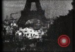 Image of Eiffel tower Paris France, 1900, second 45 stock footage video 65675040586