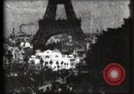Image of Eiffel tower Paris France, 1900, second 46 stock footage video 65675040586