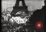 Image of Eiffel tower Paris France, 1900, second 47 stock footage video 65675040586