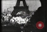 Image of Eiffel tower Paris France, 1900, second 51 stock footage video 65675040586