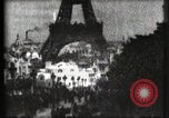 Image of Eiffel tower Paris France, 1900, second 55 stock footage video 65675040586