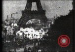 Image of Eiffel tower Paris France, 1900, second 56 stock footage video 65675040586