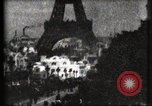 Image of Eiffel tower Paris France, 1900, second 59 stock footage video 65675040586