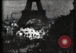 Image of Eiffel tower Paris France, 1900, second 60 stock footage video 65675040586