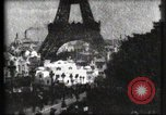 Image of Eiffel tower Paris France, 1900, second 61 stock footage video 65675040586