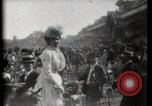 Image of women wearing hats Paris France, 1900, second 9 stock footage video 65675040595