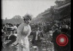 Image of women wearing hats Paris France, 1900, second 10 stock footage video 65675040595