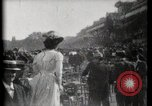 Image of women wearing hats Paris France, 1900, second 15 stock footage video 65675040595