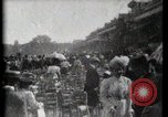 Image of women wearing hats Paris France, 1900, second 25 stock footage video 65675040595