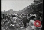Image of women wearing hats Paris France, 1900, second 27 stock footage video 65675040595