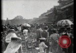 Image of women wearing hats Paris France, 1900, second 32 stock footage video 65675040595