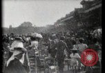 Image of women wearing hats Paris France, 1900, second 34 stock footage video 65675040595