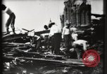 Image of Ruins on broadway Galveston Texas USA, 1900, second 25 stock footage video 65675040597