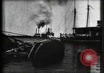 Image of water front Galveston Texas USA, 1900, second 30 stock footage video 65675040602