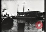 Image of water front Galveston Texas USA, 1900, second 35 stock footage video 65675040602