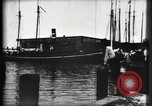 Image of water front Galveston Texas USA, 1900, second 39 stock footage video 65675040602