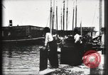 Image of water front Galveston Texas USA, 1900, second 43 stock footage video 65675040602