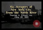 Image of North River New York City USA, 1903, second 2 stock footage video 65675040608