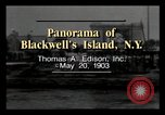 Image of Blackwell's Island New York City USA, 1903, second 1 stock footage video 65675040609