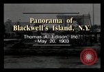 Image of Blackwell's Island New York City USA, 1903, second 2 stock footage video 65675040609