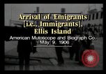 Image of Immigrants arriving at Ellis Island New York City USA, 1906, second 2 stock footage video 65675040611