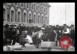 Image of Immigrants arriving at Ellis Island New York City USA, 1906, second 10 stock footage video 65675040611