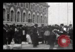 Image of Immigrants arriving at Ellis Island New York City USA, 1906, second 14 stock footage video 65675040611