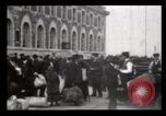 Image of Immigrants arriving at Ellis Island New York City USA, 1906, second 16 stock footage video 65675040611