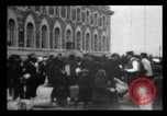 Image of Immigrants arriving at Ellis Island New York City USA, 1906, second 21 stock footage video 65675040611