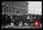 Image of Immigrants arriving at Ellis Island New York City USA, 1906, second 30 stock footage video 65675040611
