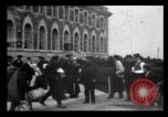 Image of Immigrants arriving at Ellis Island New York City USA, 1906, second 34 stock footage video 65675040611