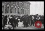 Image of Immigrants arriving at Ellis Island New York City USA, 1906, second 36 stock footage video 65675040611