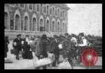 Image of Immigrants arriving at Ellis Island New York City USA, 1906, second 38 stock footage video 65675040611