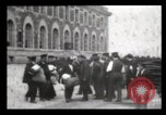 Image of Immigrants arriving at Ellis Island New York City USA, 1906, second 41 stock footage video 65675040611