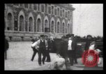 Image of Immigrants arriving at Ellis Island New York City USA, 1906, second 46 stock footage video 65675040611
