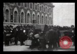 Image of Immigrants arriving at Ellis Island New York City USA, 1906, second 54 stock footage video 65675040611