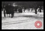 Image of Sleighs New York City USA, 1898, second 20 stock footage video 65675040624